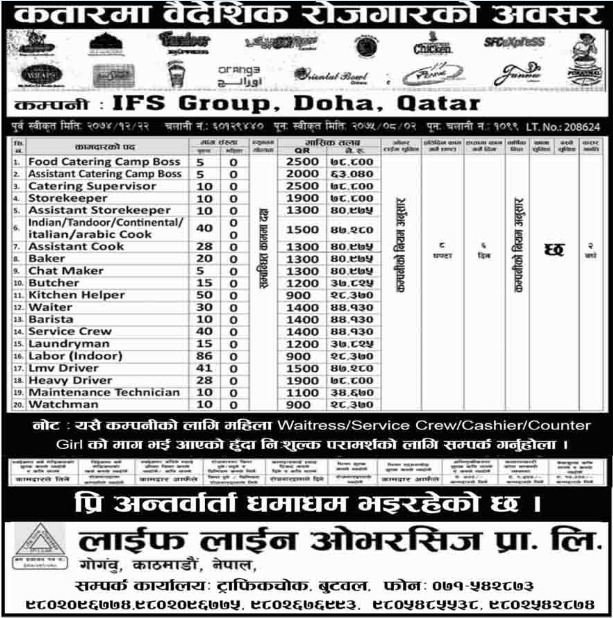 Job Vacancy For Storekeeper Job Vacancy In Ifs Group Job