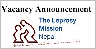 Job Vacancy In The Leprosy Mission Nepal,Job Vacancy For Data